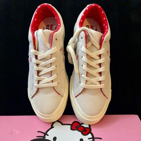 Converse Shoes -   CONVERSE X Hello Kitty One Star Suede Low Top   6be03edb5
